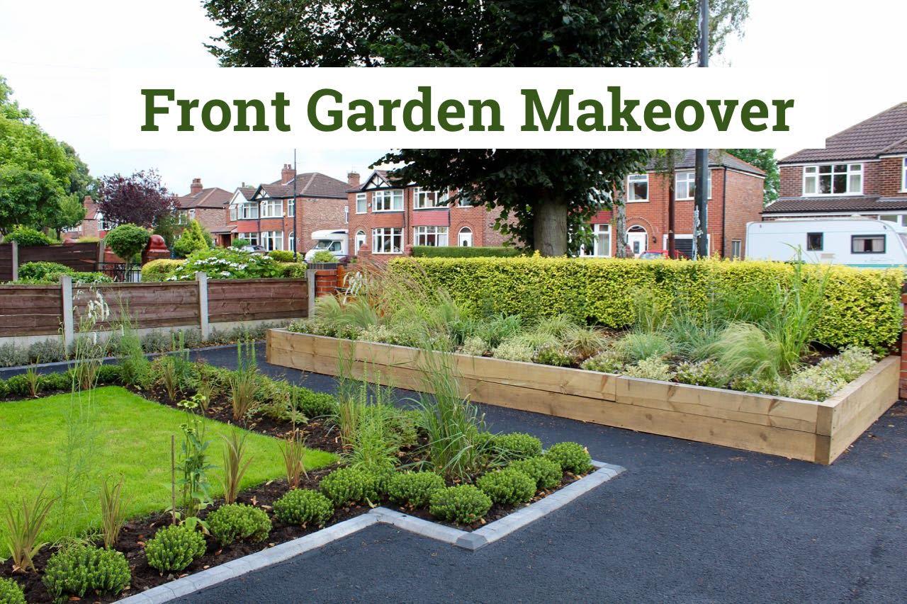 Front garden makeover for Garden makeover
